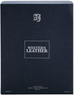Alexandre.J Western Leather Black eau de parfum férfiaknak 100 ml