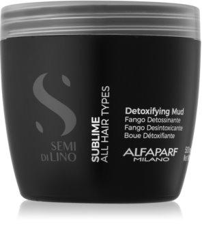 Alfaparf Milano Semi di Lino Sublime Detoxifying Mask for All Hair Types