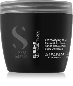Alfaparf Milano Semi di Lino Sublime detoxikační maska pro všechny typy vlasů