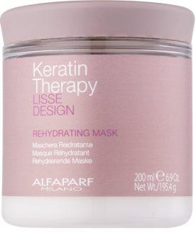 Alfaparf Milano Lisse Design Keratin Therapy rehidratáló maszk minden hajtípusra