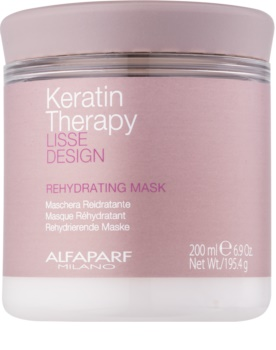 Alfaparf Milano Lisse Design Keratin Therapy rehydratační maska pro všechny typy vlasů