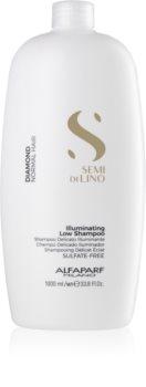 Alfaparf Milano Semi di Lino Diamond Illuminating aufhellendes Shampoo