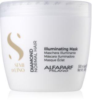 Alfaparf Milano Semi di Lino Diamond Illuminating posvjetljujuća maska bez sulfata i parabena
