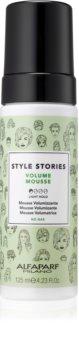 Alfaparf Milano Style Stories Volume Mousse mousse volumisante pour cheveux