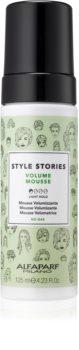 Alfaparf Milano Style Stories Volume Mousse pěna pro objem vlasů