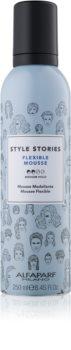 Alfaparf Milano Style Stories The Range Pre-Styling mousse fixante fixation moyenne