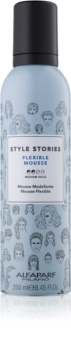 Alfaparf Milano Style Stories The Range Pre-Styling Styling Mousse Medium Control