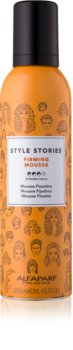 Alfaparf Milano Style Stories Firming Mousse stylingová pena