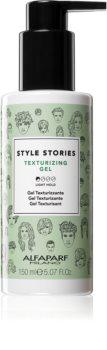 Alfaparf Milano Style Stories The Range Texturizing stiling gel z rahlim utrjevanjem za povečanje volumna