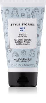 Alfaparf Milano Style Stories The Range Gel gél na vlasy s mokrým efektom stredné spevnenie