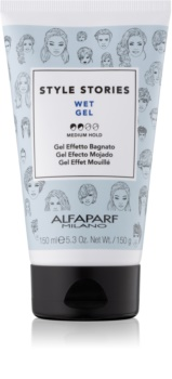 Alfaparf Milano Style Stories The Range Gel Hair Styling Wet Effect Gel Medium Control