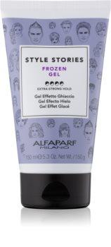 Alfaparf Milano Style Stories The Range Gel gél na vlasy s ľadovým efektom extra silné spevnenie