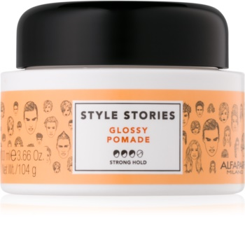 Alfaparf Milano Style Stories The Range Paste Shaping Paste Strong Firming