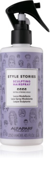 Alfaparf Milano Style Stories The Range Hairspray spray cheveux fixation extra forte
