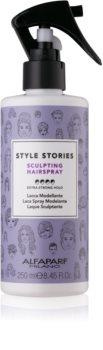 Alfaparf Milano Style Stories The Range Hairspray sprej na vlasy extra silné spevnenie