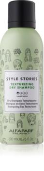Alfaparf Milano Style Stories The Range Texturizing suchý šampon pro zvětšení objemu vlasů