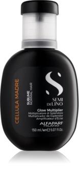 Alfaparf Milano Semi di Lino Sublime Glow Multiplier koncentrát na vlasy s vitamíny