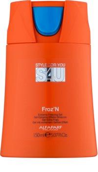 Alfaparf Milano Style for You (S4U) gél na vlasy extra silné spevnenie