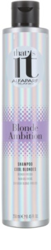 Alfaparf Milano That s it Blonde Ambition Shampoo For Cool Blond