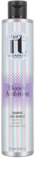 Alfaparf Milano That s it Blonde Ambition Shampoo  voor Koude Blond Tinten