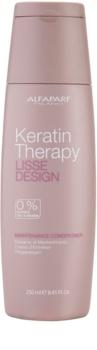 Alfaparf Milano Lisse Design Keratin Therapy vyživujúci kondicionér bez sulfátov a parabénov