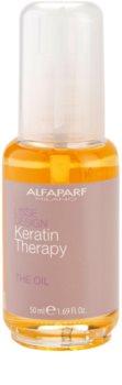 Alfaparf Milano Lisse Design Keratin Therapy nährendes Öl für alle Haartypen
