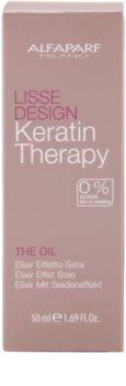 Alfaparf Milano Lisse Design Keratin Therapy huile nourrissante pour tous types de cheveux