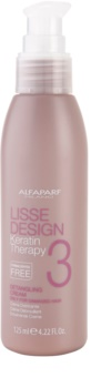 Alfaparf Milano Lisse Design Keratin Therapy krém pro tepelnou úpravu vlasů