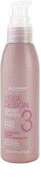 Alfaparf Milano Lisse Design Keratin Therapy krema za toplotno oblikovanje las