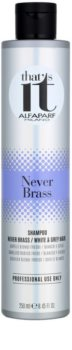 Alfaparf Milano That s it Never Brass Shampoo for White and Grey Hair