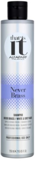 Alfaparf Milano That s it Never Brass Shampoo voor Wit en Grijs Haar