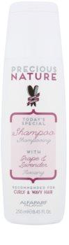 Alfaparf Milano Precious Nature Grape & Lavender šampon pro kudrnaté a vlnité vlasy