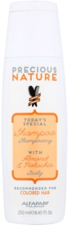 Alfaparf Milano Precious Nature Almond & Pistachio shampoing pour cheveux colorés