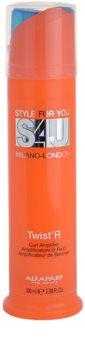 Alfaparf Milano Style for You (S4U) fluide pour cheveux bouclés