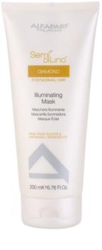 Alfaparf Milano Semi di Lino Diamond Illuminating Maske für glänzendes und geschmeidiges Haar