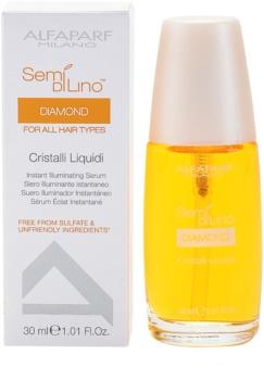Alfaparf Milano Semi di Lino Diamond Illuminating rozświetlające serum nadające połysk włosom