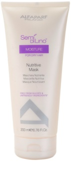 Alfaparf Milano Semi di Lino Moisture Nourishing Mask for Dry and Damaged Hair