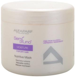 Alfaparf Milano Semi di Lino Moisture máscara nutritiva para cabelo seco a danificado