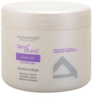 Alfaparf Milano Semi di Lino Moisture vyživující maska pro suché a poškozené vlasy