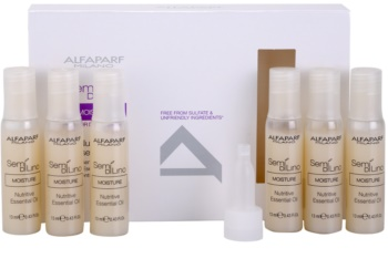 Alfaparf Milano Semi di Lino Moisture óleo nutritivo  para cabelo seco