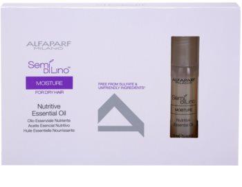 Alfaparf Milano Semi di Lino Moisture huile nourrissante pour cheveux secs
