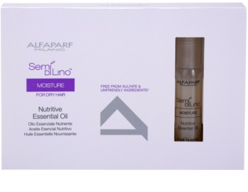 Alfaparf Milano Semi di Lino Moisture vyživující olej pro suché vlasy