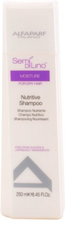 Alfaparf Milano Semi di Lino Moisture Shampoo mit ernährender Wirkung für trockenes Haar