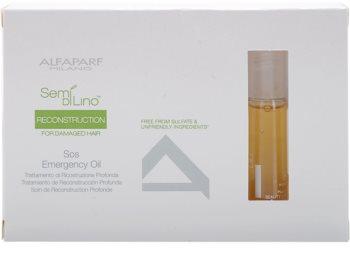 Alfaparf Milano Semi di Lino Reconstruction for Damaged Hair Regenerating Oil For Damaged Hair