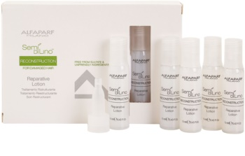 Alfaparf Milano Semi di Lino Reconstruction for Damaged Hair Regenerating Treatment For Damaged Hair