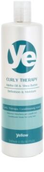 Alfaparf Milano Yellow Curly Therapy feuchtigkeitsspendender Conditioner für welliges Haar