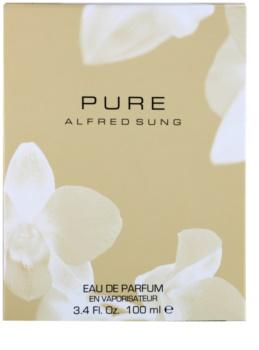 Alfred Sung Pure Eau de Parfum voor Vrouwen  100 ml