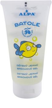 Alpa Batole sanftes Duschgel für Kinder mit  Olivenöl