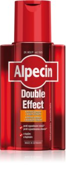 Alpecin Double Effect σαμπουάν καφεϊνης για άντρες κατά της πιτυρίδας και της τριχόπτωσης