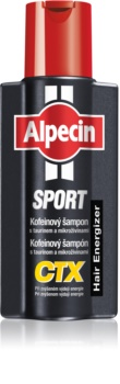 Alpecin Sport CTX σαμπουάν καφεϊνης κατά της τριχόπτωσης στην αυξημένη διανομή ενέργειας